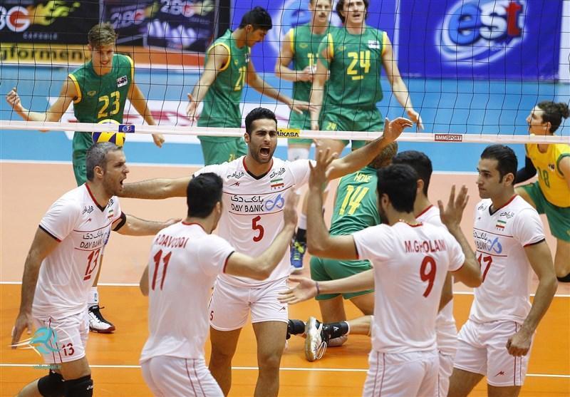 تیم ملی والیبال ب ایران با شکست میزبان صعود کرد، مصاف با ژاپن برای صعود به فینال