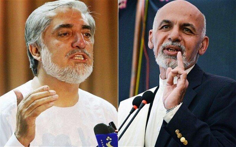 اشرف غنی برنده نتایج اولیه انتخابات افغانستان ، عبدالله عبدالله نتایج را نپذیرفت