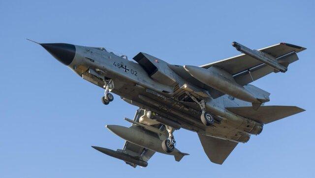 انصارالله یمن جنگنده ائتلاف سعودی را در آسمان الجوف ساقط کرد